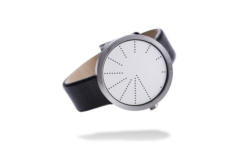Order Watch 紐約當代鬼才設計師極簡手錶 - 銀