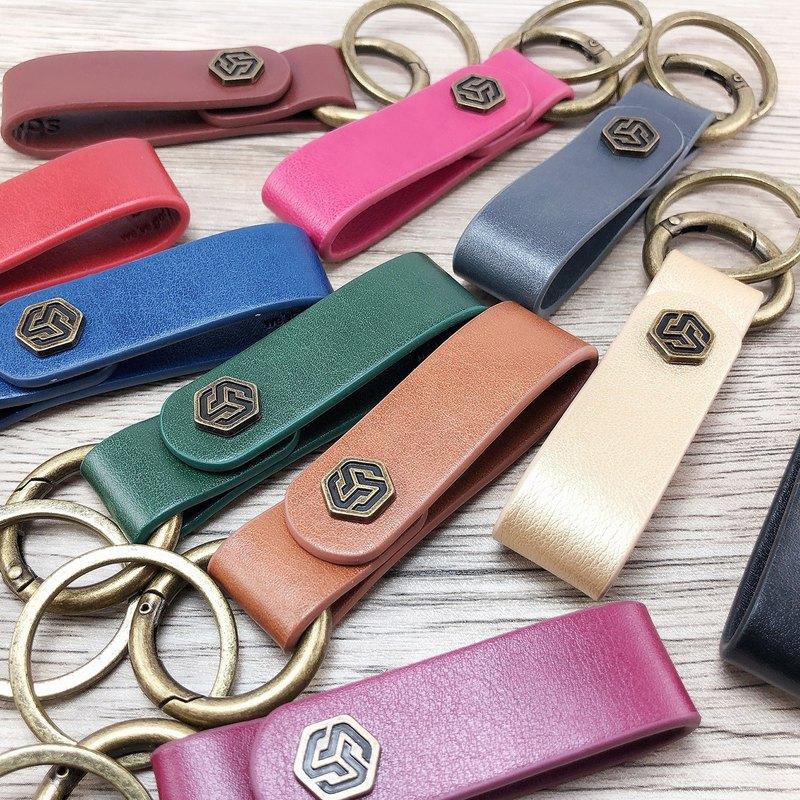 【Alter】-環保皮革鑰匙圈-10種精選顏色 // 小禮物 婚禮小物