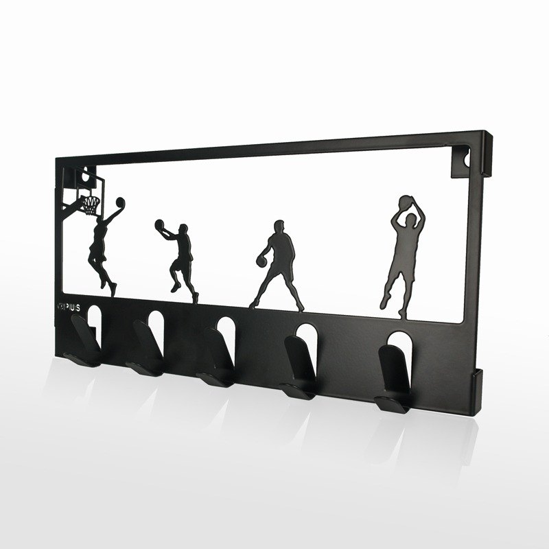 【OPUS東齊金工】歐式鐵藝壁飾掛勾/背景牆壁飾/創意收納(灌籃高手)