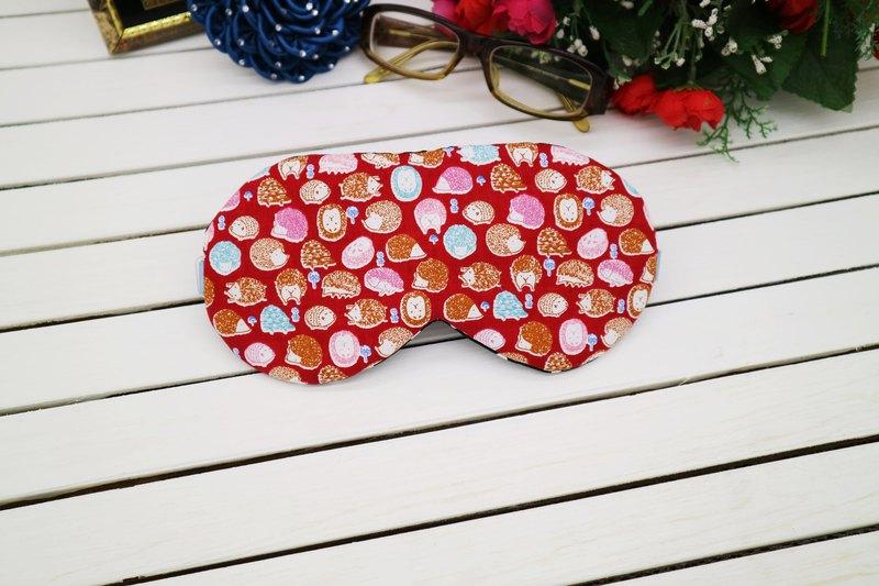 小刺蝟 可調式眼罩  贈收納袋 sleep mask