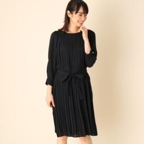 [マルイ]【セール】プリーツワンピース/クチュールブローチ(Couture Brooch)