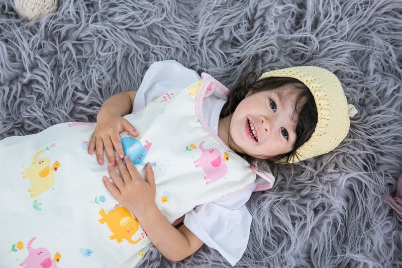 Cutie Bella兒童防踢被睡袋-四季款 Elephant&Bird大象小鳥0-3歲