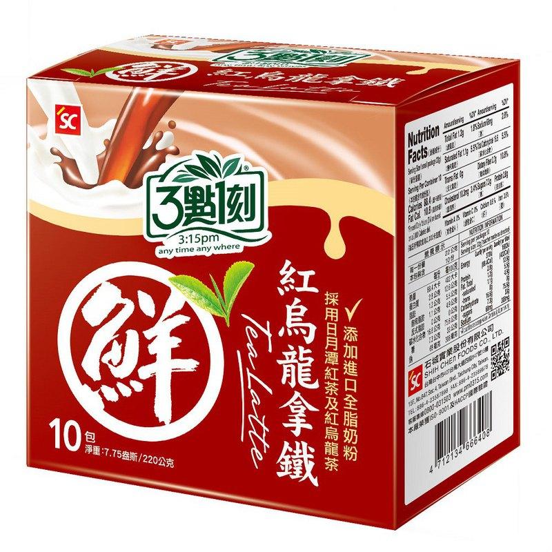 【3點1刻】紅烏龍拿鐵 10入/盒