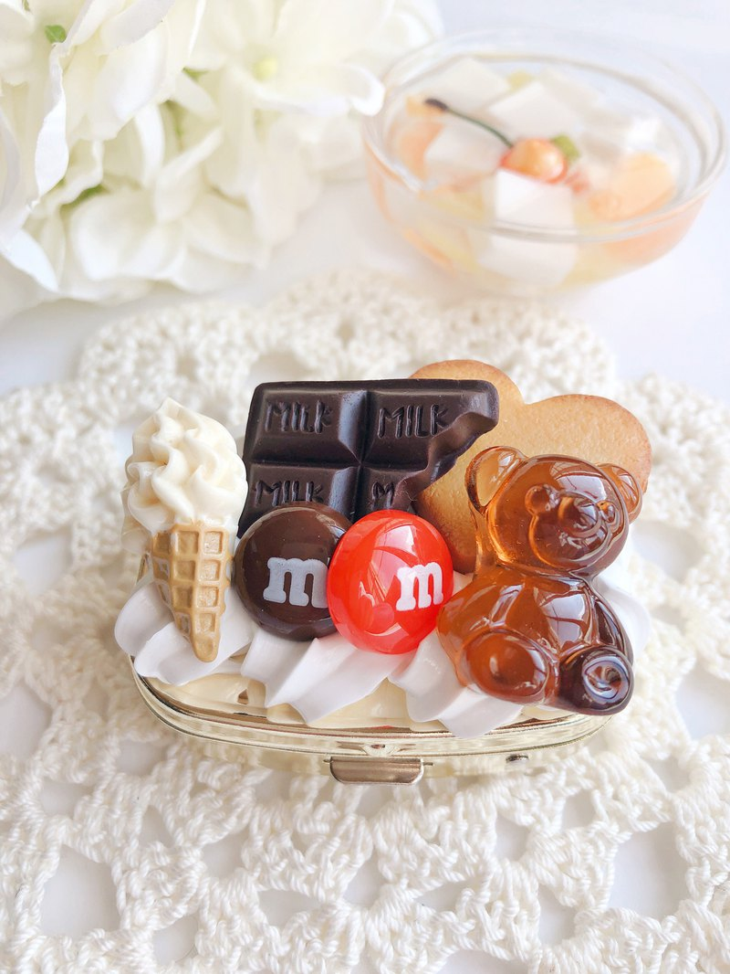 藥盒,案例,巧克力,糖果,假糖果,sweetsdeco,卡哇伊,糖果藥盒