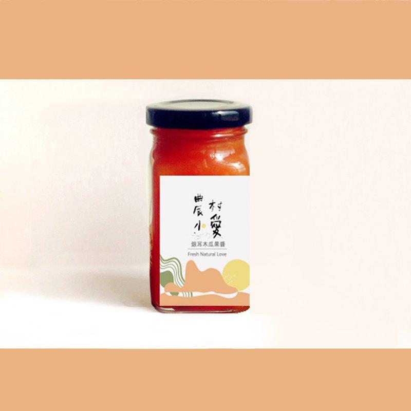銀耳木瓜果醬