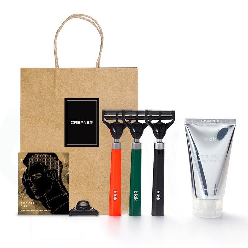 完美禮物 【期間限定 加贈手提紙袋+卡片】(送完為止) ◢ 極致質感,送禮最佳選擇,讓刮鬍成為每天最美好時光