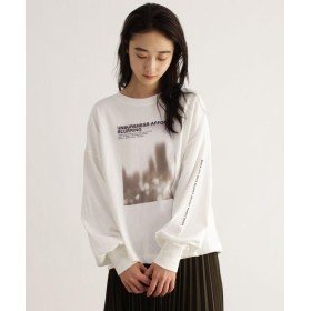 OZOC(オゾック) [洗える]コットン転写プリントTシャツ