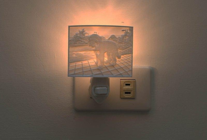 【Geway】3D列印_動物壁燈_客製禮品_情人節_結婚_交換禮物