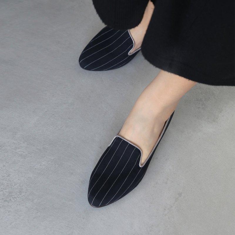 WL英倫系-(Nancy)低跟Heeled Loafers