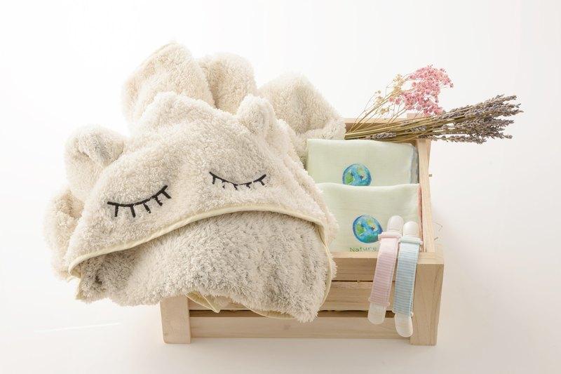 親親。寶貝新生兒禮盒(彌月禮/浴巾/包巾/手帕/無毒/新生兒/禮物)