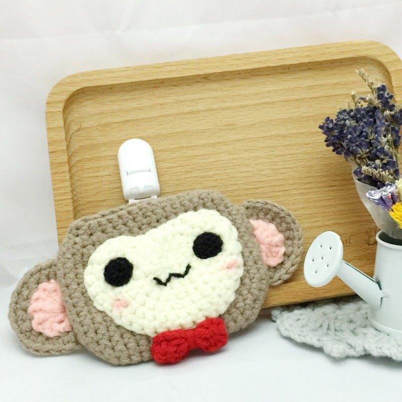猴子.平安符袋(護身符袋、御守套)~ 最溫暖可愛的彌月禮