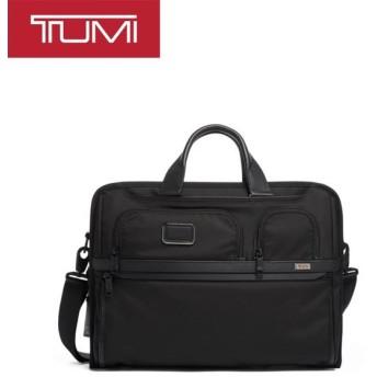 [正規品]送料無料 TUMI Alpha3 ビジネスバッグ ショルダーバッグ ブリーフケース コンパクト ラージ スクリーン ラップトップ ブラック 2603114D3 117302-1041