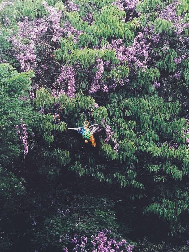 手繪墜子 - 蜂鳥 / hummingbird / ハチドリ