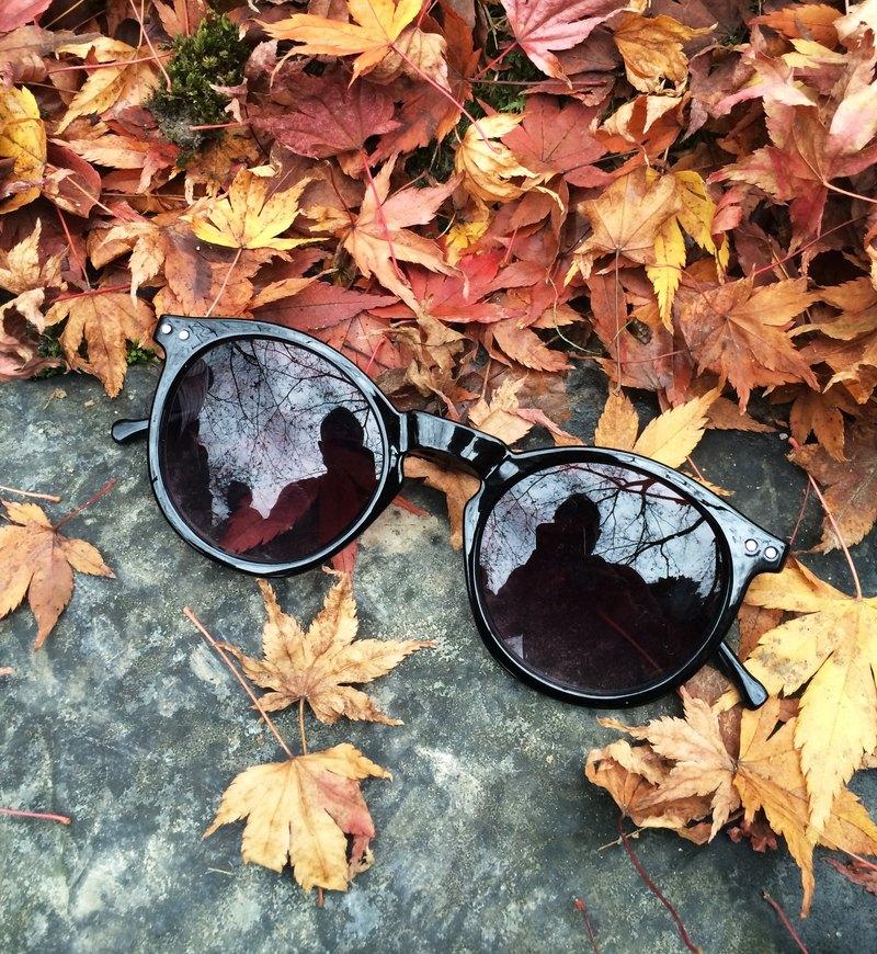 2is AngusA1 太陽眼鏡│黑色圓框│復古墨鏡│抗UV400