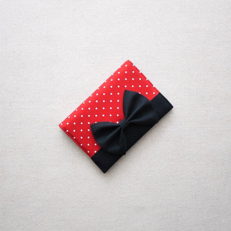 立體蝴蝶結護照套