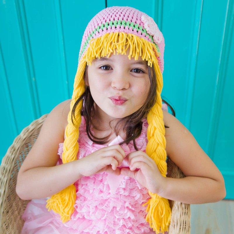 Cutie Bella手工編織帽Frozen-Anna Sunny Hair