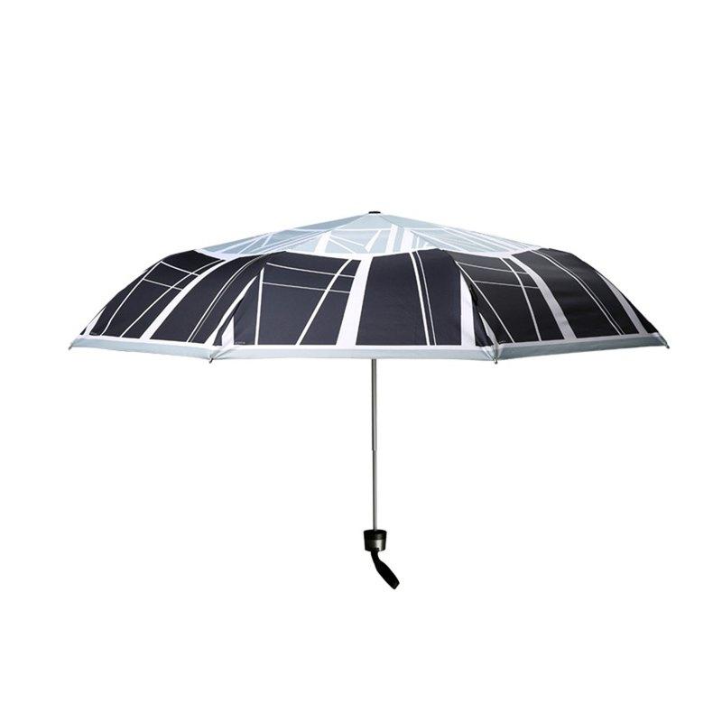 德國 Knirps 三折手動折疊女用防曬遮陽傘黑膠太陽傘防紫外線涂層