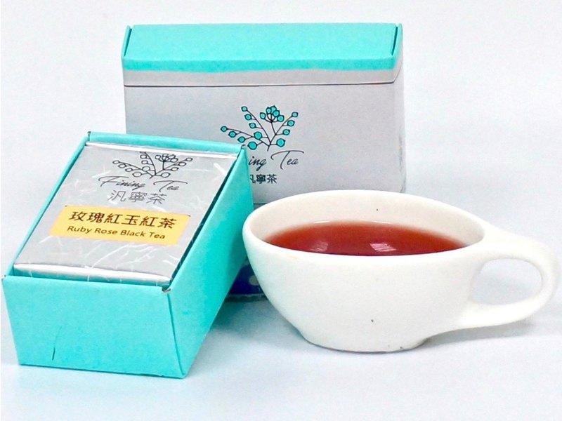 【汎寧茶FiningTea】玫瑰紅玉紅茶∣無熱量∣8入裝