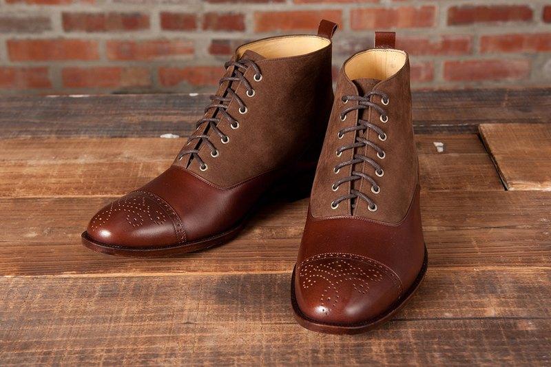 巴爾莫勒爾皮底靴 深咖啡 紳士鞋 靴子 男靴 男