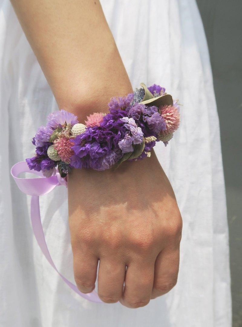 I Wedding collection I 浪漫圓舞曲_新娘/伴娘乾燥手腕花_婚紗/婚禮攝影(可客製)
