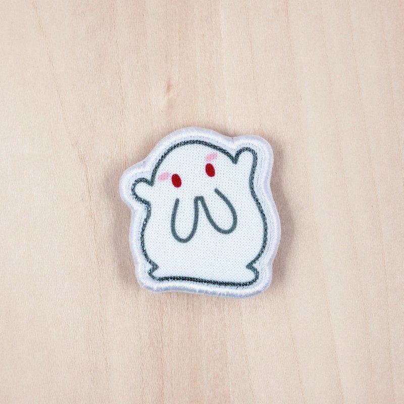米糍兔Milky布胸針/襟章(BH002C)