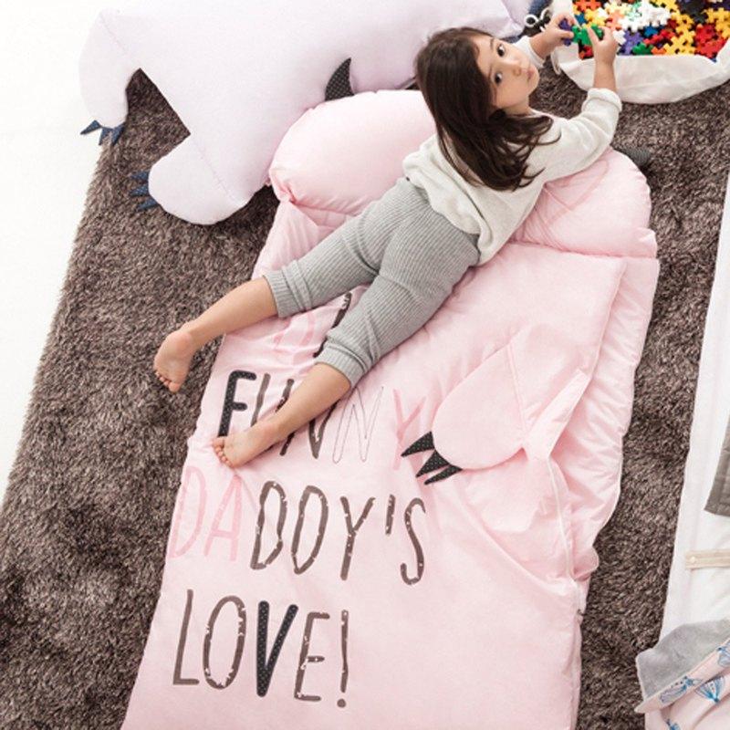 【絕版出清】韓國Daby ─ 達比大怪獸兒童睡袋-Daby
