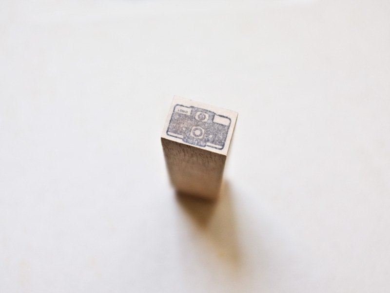 [印章]編號104 LOMO LC-A 相機