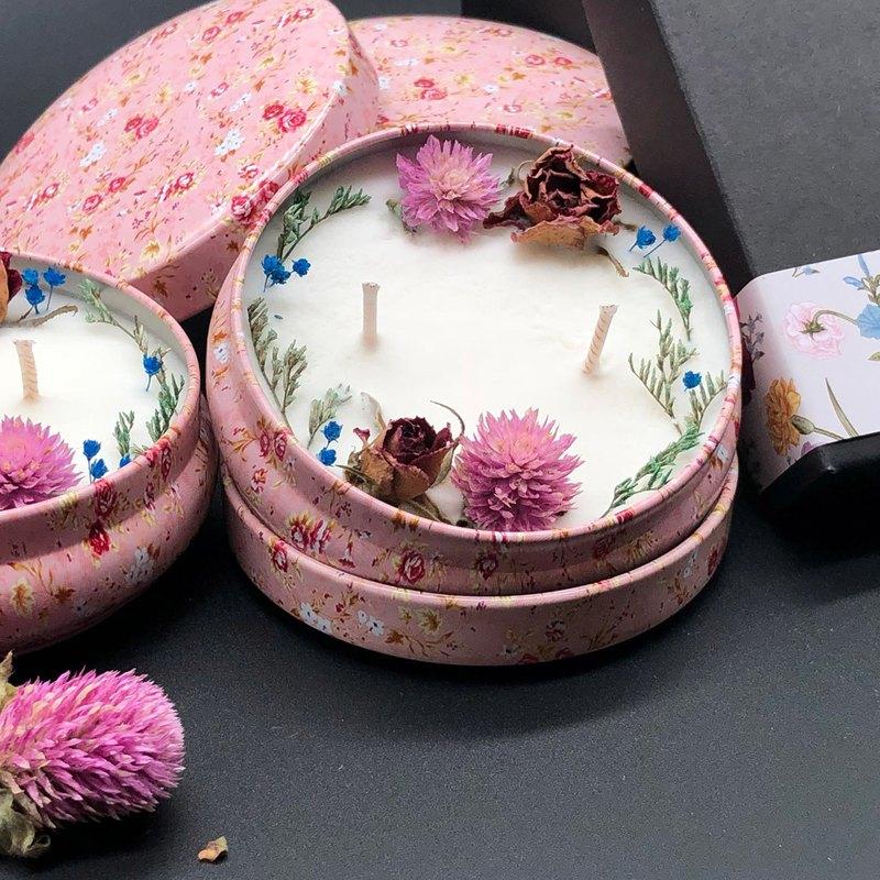 克莉絲玫瑰(花香調)大豆蠟燭 居家香氛系列 禮物小品 探房禮
