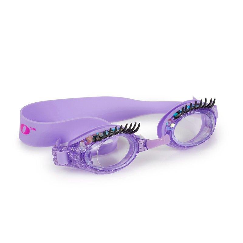 美國Bling2o 兒童造型泳鏡 睫毛彎彎-紫色