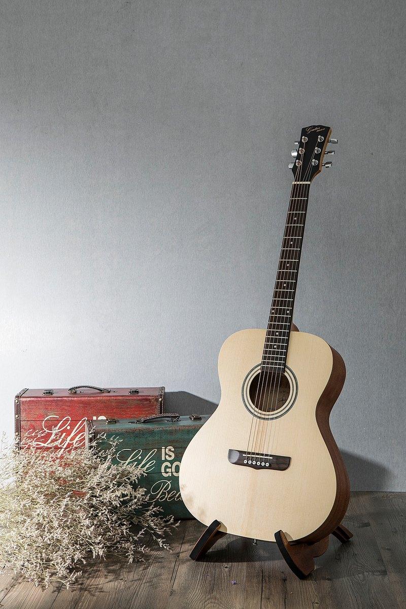 台灣原創 guitarman M-11A 40吋 雲杉合板 手工40吋OM桶身吉他