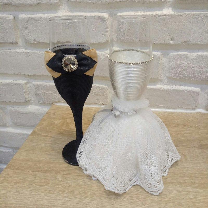 白紗旗艦款 婚禮經典白紗夢幻敬酒杯款