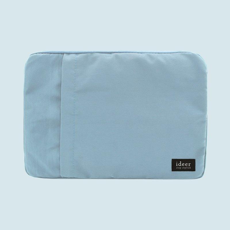 天藍色防潑水尼龍超輕筆電包13.3吋筆記型電腦 公事包 書包