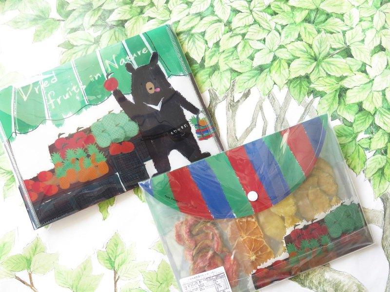 水果熊老闆果乾茄芷包(4入)