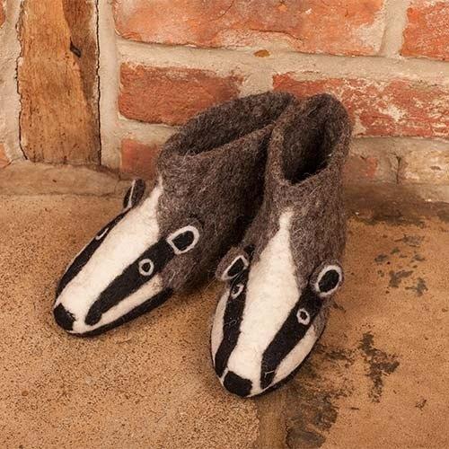 新年禮 - 英國sew heart felt放牧小羊羊毛氈鞋(成人款) 比利貛