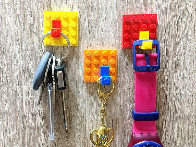 積木收納小方塊3入組隨處掛系列 相容樂高LEGO積木