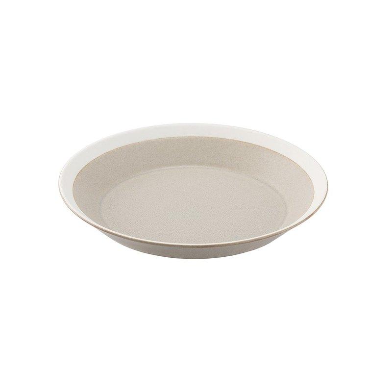 菜餚盤 18cm 沙米色(磨砂)