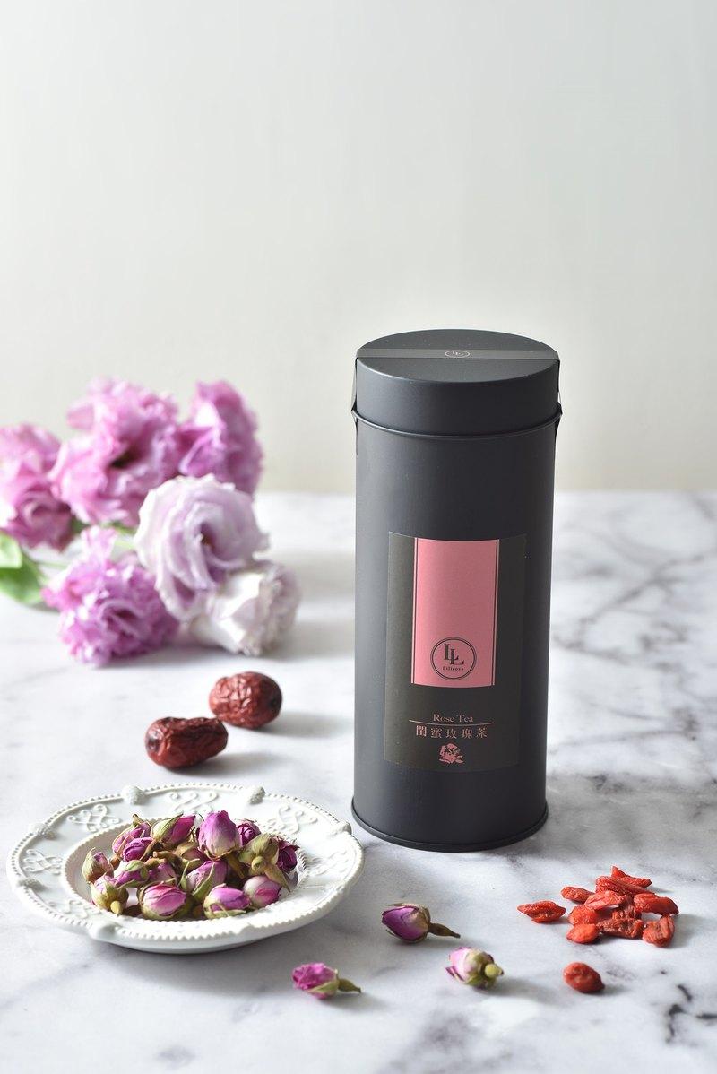 【閨蜜玫瑰茶】養生茶包 / 天然 / 甘甜 / 舒壓 / 清香 / 好氣色