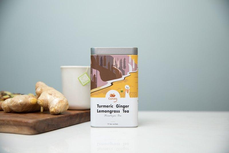 有機薑黃香茅薑茶