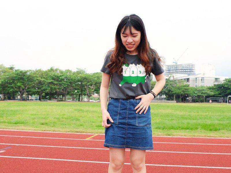 糾腳一起玩 / SPORTS DAY / 中性純棉T-Shirt