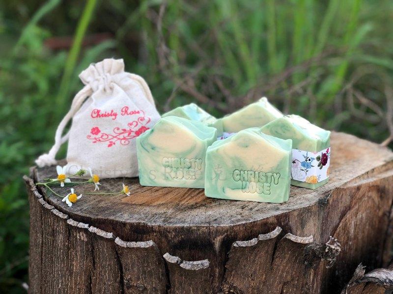 漫步森林 冷製手工皂 乾性/中性性肌膚適用