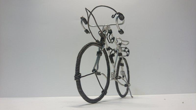 鋁線腳踏車-公路車(附PVC包裝盒)