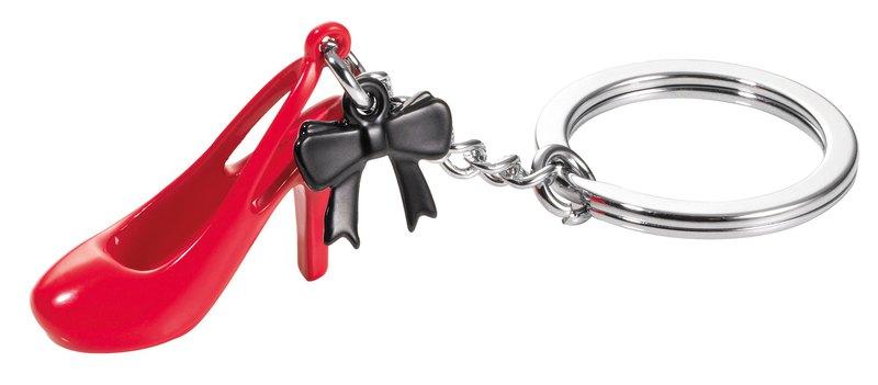 紅色高跟鞋鑰匙圈