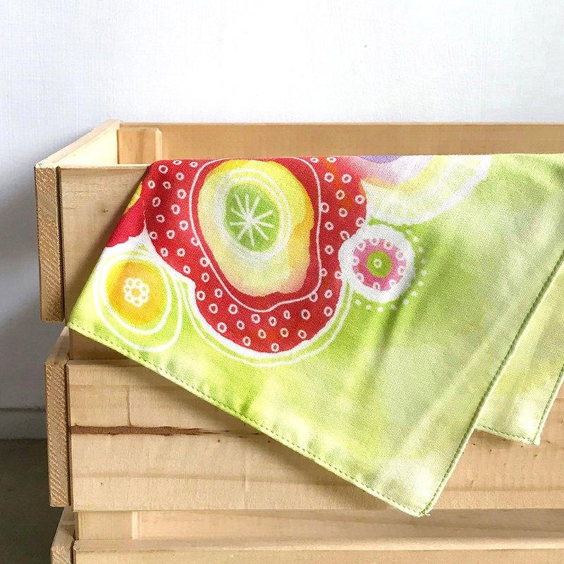泡泡綠 - 布巾/方巾