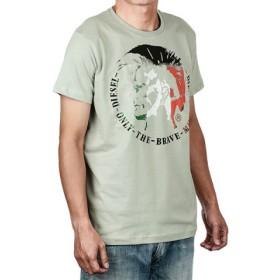 (ECHELLE Liberte/エシェルリベルテ)ディーゼル(アパレル) Tシャツ/メンズ グレー