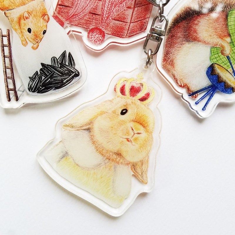 鑰匙圈- 兔兔王