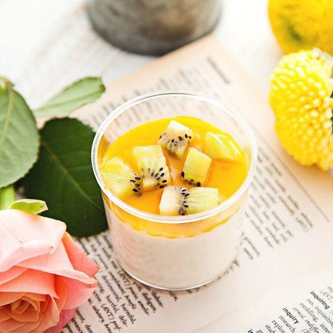 鮮芒奶酪 #純淨自然#滴水不加#香濃好滋味#新鮮芒果奇異果