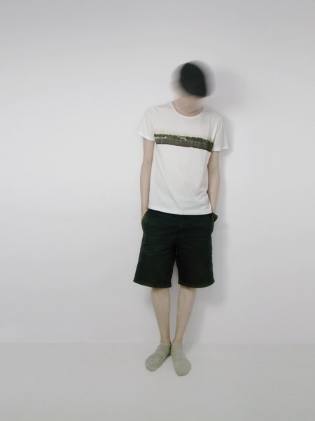 I . A . N Design 片段風景  有機棉短袖T Organic Cotton