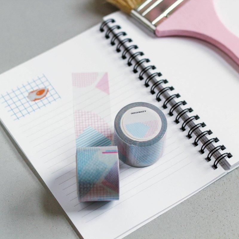 幾何線條紙膠帶
