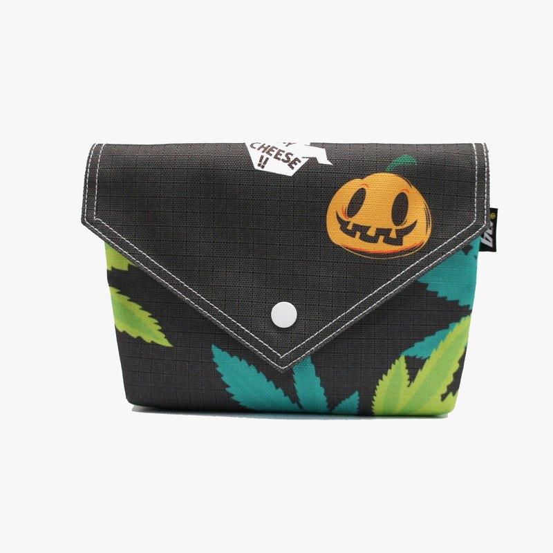 BLR 手工印製 PunkPumpkin 南瓜人 聯名款 BB BAG 肩背包 手拿包