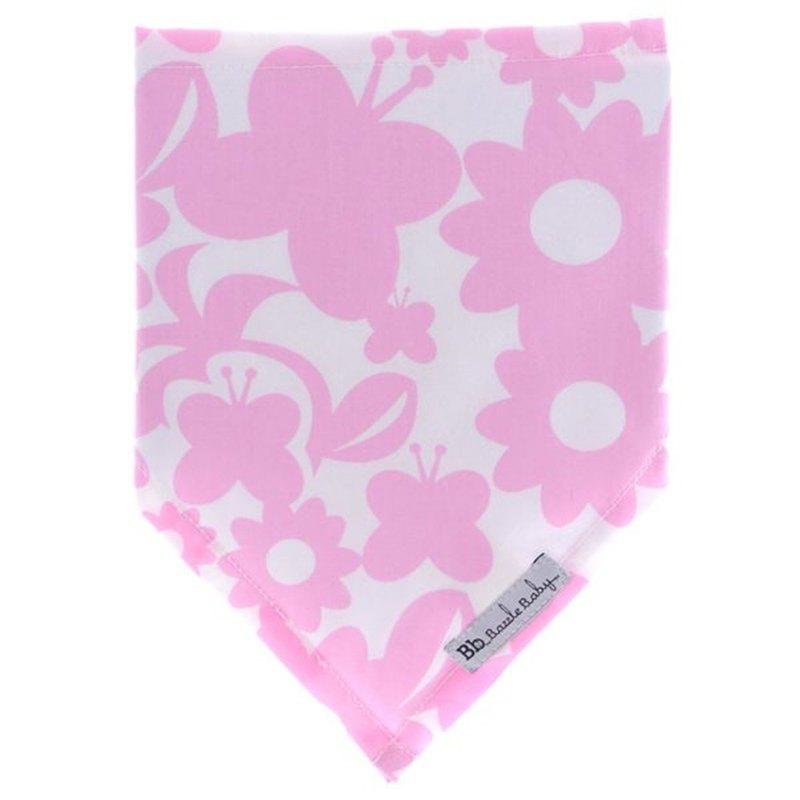 純棉時尚造型超可愛領巾圍兜 Pink Butterfly